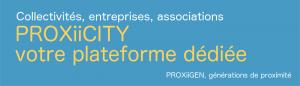 proxiicity plateforme dédiée collectivités, mairies, entreprises