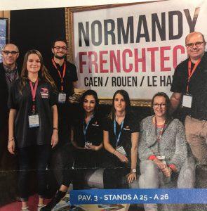 Venez donc vous aussi faire un tour sur notre stand... Proxiicity mais aussi tout plein de belles startup normandes à découvrir. On est prêt :-)
