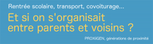 rentree scolaire, covoiturage parents eleves